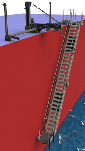 SHIP SIDE ACCOMMODATION LADDERS & GANGWAYS