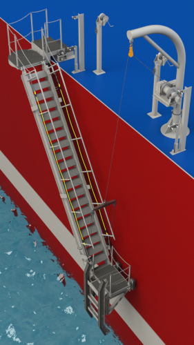 Schoellhorn Albrecht Custom Navsea Accommodation Ladder