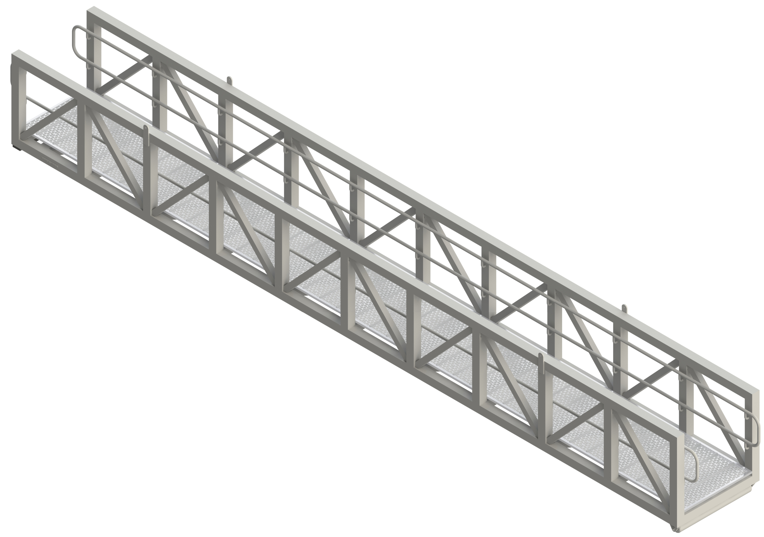 GANGWAY TALL TRUSS WITH HAND RAILS