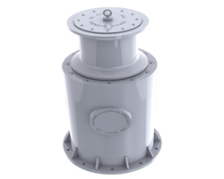 Above Deck Inline Capstan
