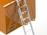 Barge Coming Ladder - Kevel Attachment