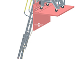 Barge Coaming Ladder - Stair Coamover Concept