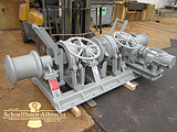 Anchor Windlass - Double Horizontal Anchor Windlass