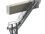 Accommodation Ladder - Feathering Treads, Lower Platform with Fenders, Upper Rotating Platform