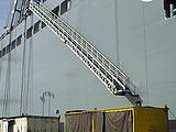 Accommodation Ladder - 76' Curved Tread Self Stowing